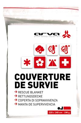 COUVERTURE DE SURVIE OR 60 GR ARVA