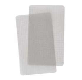 TENACIOUS TAPE® 2 rustines nylon Transparent Ripstop pour réparer tissu ssiliconés tente sac à dos