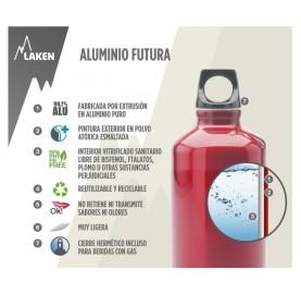 gourde aluminium 1 litre  LAKEN