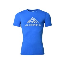 PROCLIMB MASHERBRUM T-SHIRT HOMME tee shirt naturel anti odeur rando escalade trail