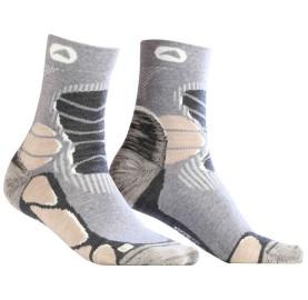 Socquette laine rando pour chaussures rando mid ou basse CHAUSSETTES MID TREK LIGHT Monnet Made In France