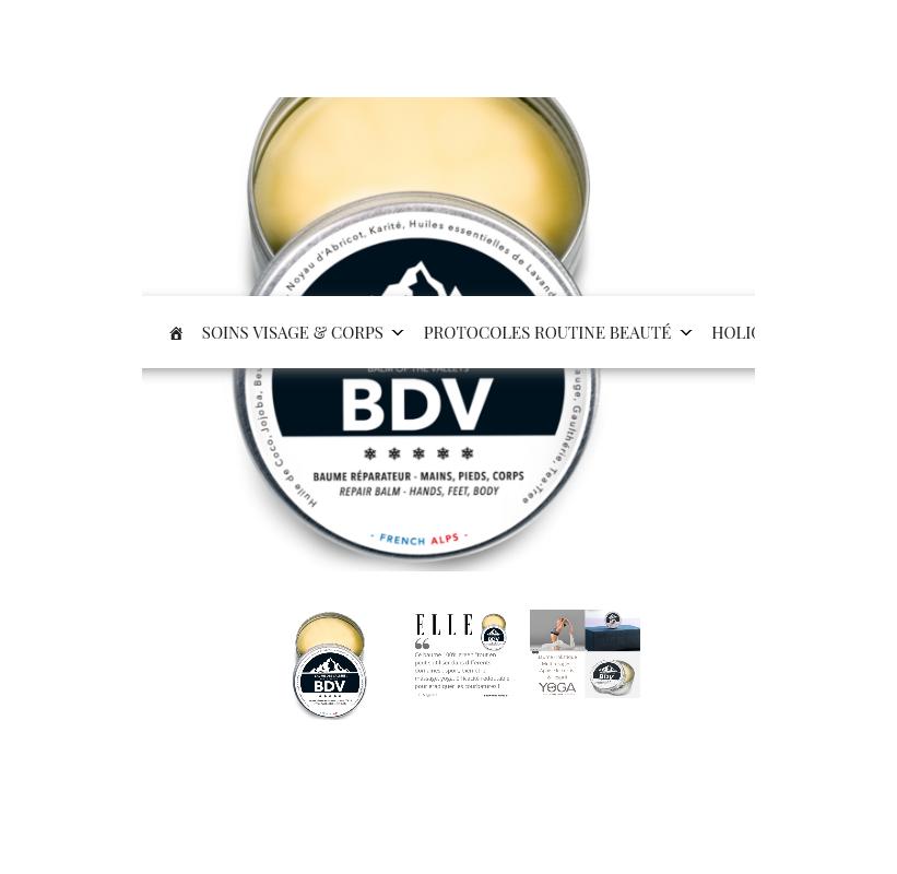 BDV Baume des Vallées Soins Multifonction Sans Eau