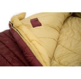 G 180 lady CARINTHIA Sac de couchage femme eRabat de fermeture éclair avec bande thermique zippée