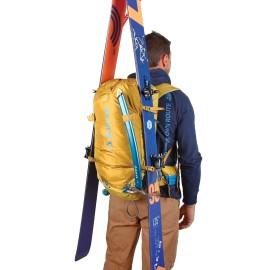 Sac à dos KUME 38 L BLUE ICE grand sac alpinisme portage ski en A