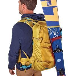 Sac à dos KUME 38 L BLUE ICE grand sac alpinisme portage ski dans le dos