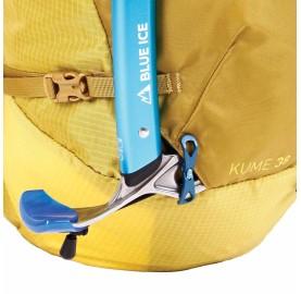 Sac à dos KUME 38 L BLUE ICE porte piolet grand sac alpinisme