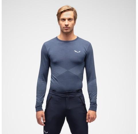 ZEBRU RESPONSIVE M L/S SALEWA Sous-Vêtement Laine Homme