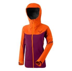 BEAST HYBRID W JKT DYNAFIT veste femme ski de randonnée zones imperméable et torse ultra respirant soule confort