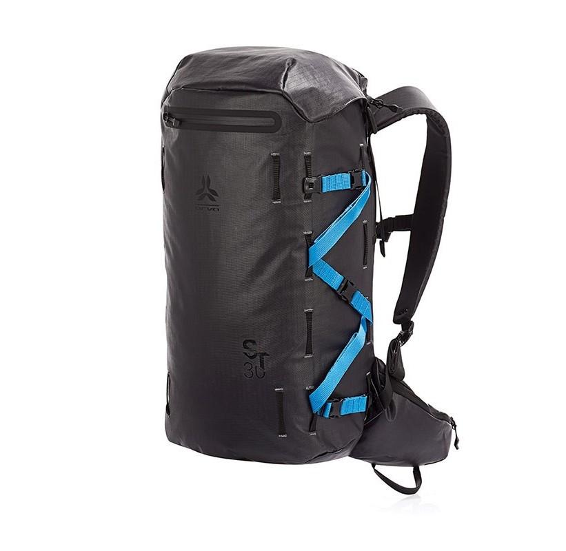 SKI TRIP 30 ARVA sac à dos ski de randonnée avec long porte maos en bleu