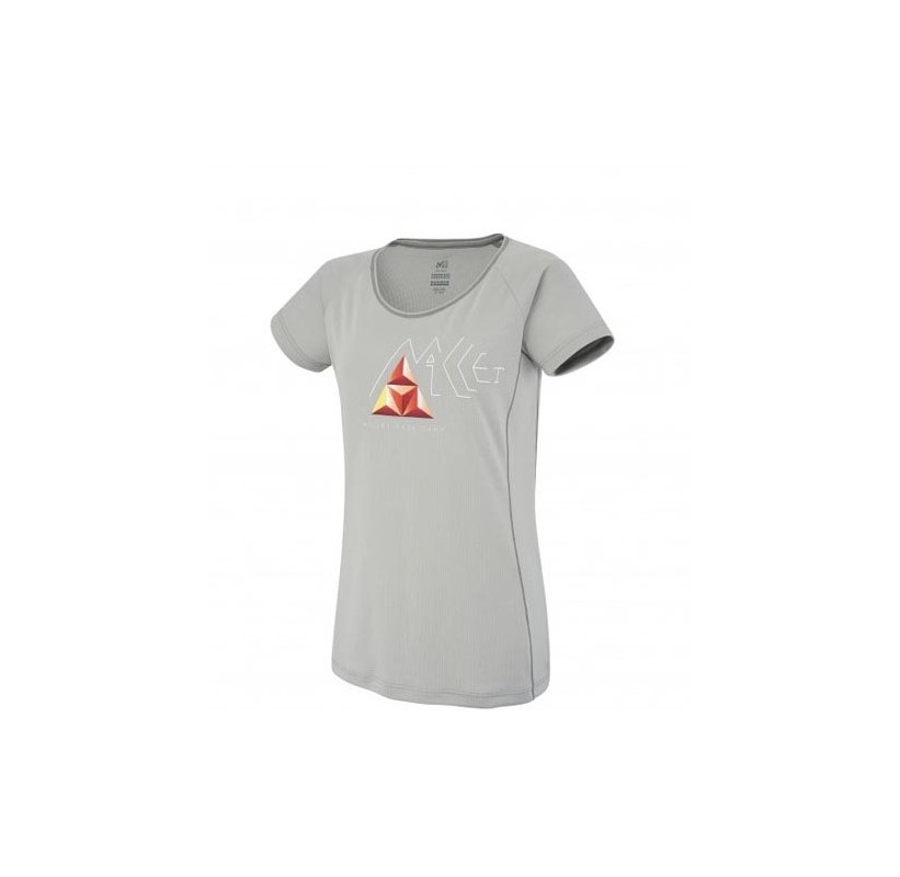 LD POWER BASE CAMP TS SS MILLET Tee-shirt femme Polartec