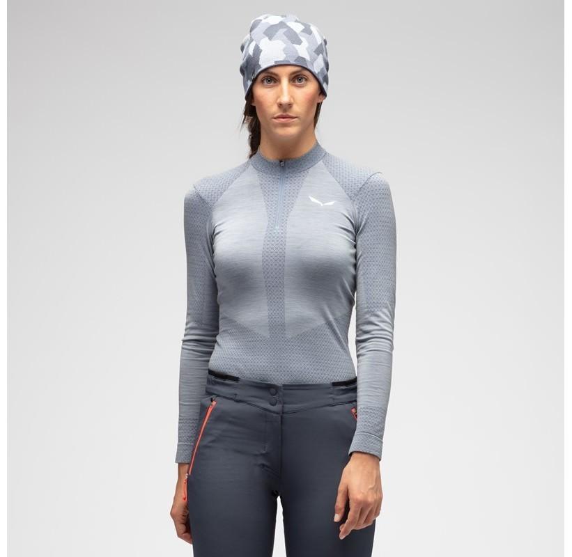 ZEBRU RESPONSIVE W L/S SALEWA Sous-Vêtement Laine Femme