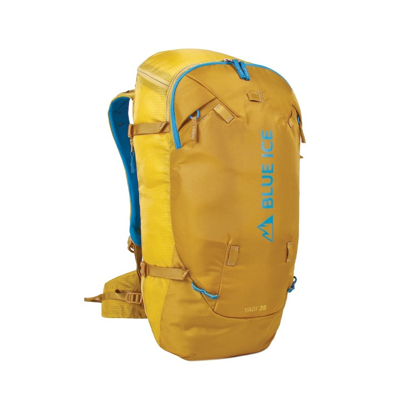 YAGI 35 L BLUE ICE sac de ski de randonnée et sac d'alpinisme