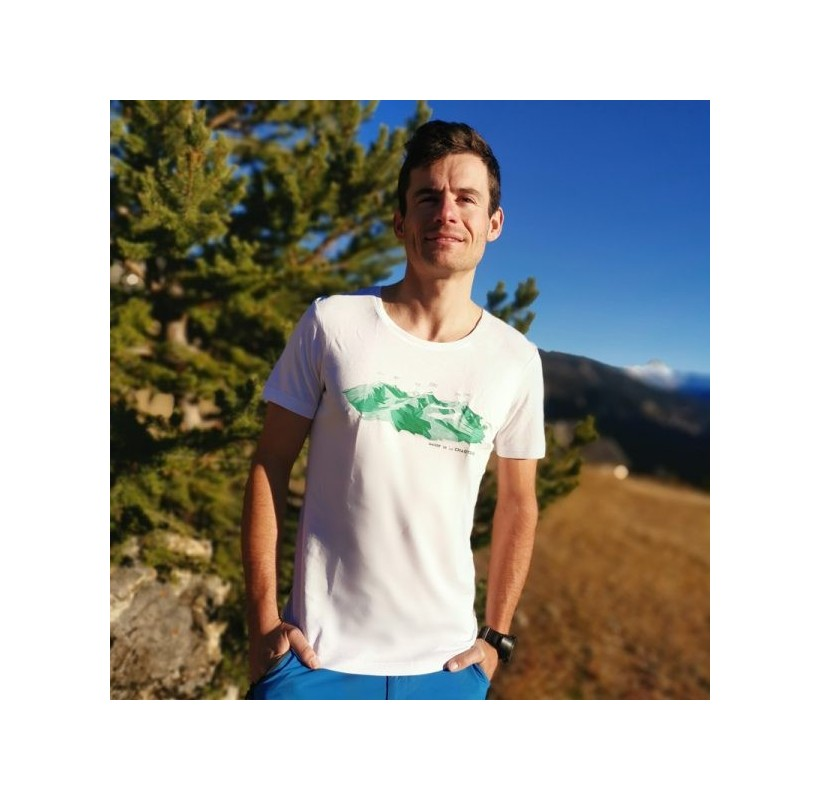 T-Shirt CHARTREUSE MASHERBRUM fibre naturelle