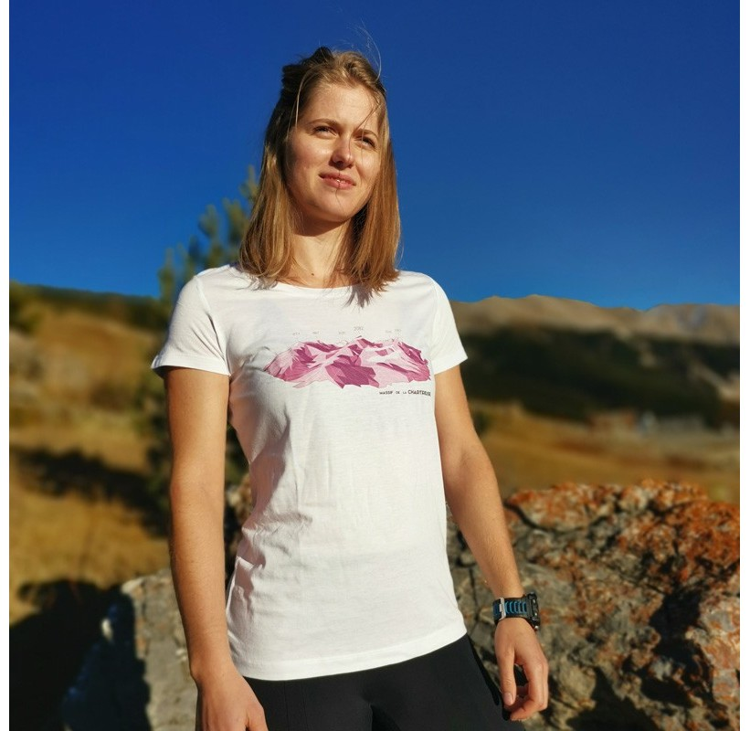 MAssif de la CHARTREUSE T-Shirt MASHERBRUM écolo nature fibre naturelle