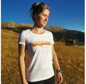 T-Shirt Femme BELLDONNE MASHERBRUM tshirt coton bio modal