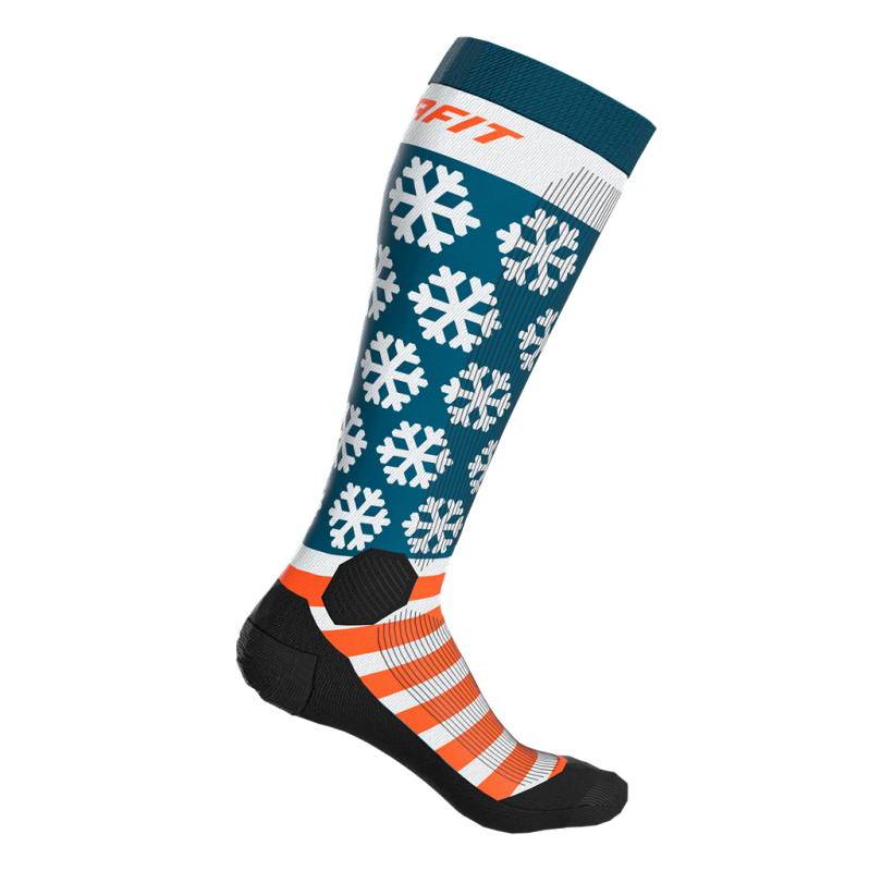 FT Graphic Socks DYNAFIT Chaussette ski de randonnée