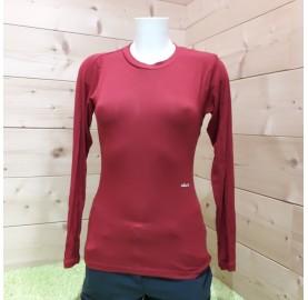 Tee-shirt femme manche longue - Fibre naturelle micromodal Très Régulant - Eco responsable
