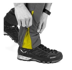 AGNER ORVAL 2 DST M REG PNT SALEWA pantalon alpinisme ouverture bas de jambe