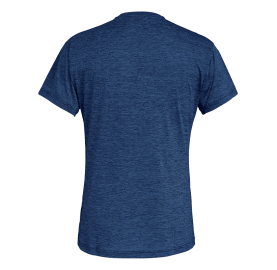 PUEZ MEL DRY M S/S TEE SALEWA tee-shirt randonnée doux séche bleu marine