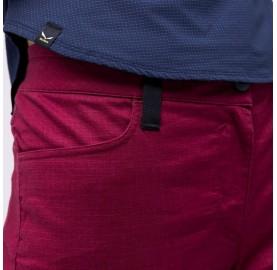 ALPINE HEMP W LIGHT PANTS SALEWA Pantalon femme chanvre et synthétique passant ceinture