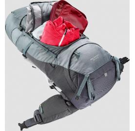 AIRCONTACT 50+10 SL DEUTER sac à dos femme 60 litres ouverture valise