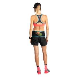 REACT BRA W DYNAFIT Soutien-gorge sportif soutien trail Anti-odeur - Séchage rapide dos nageur