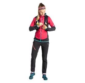 TRANSALPER HYBRID POLARTEC® ALPHA FEMME DYNAFIT veste coupe vent ultra respirante randonnée sportive