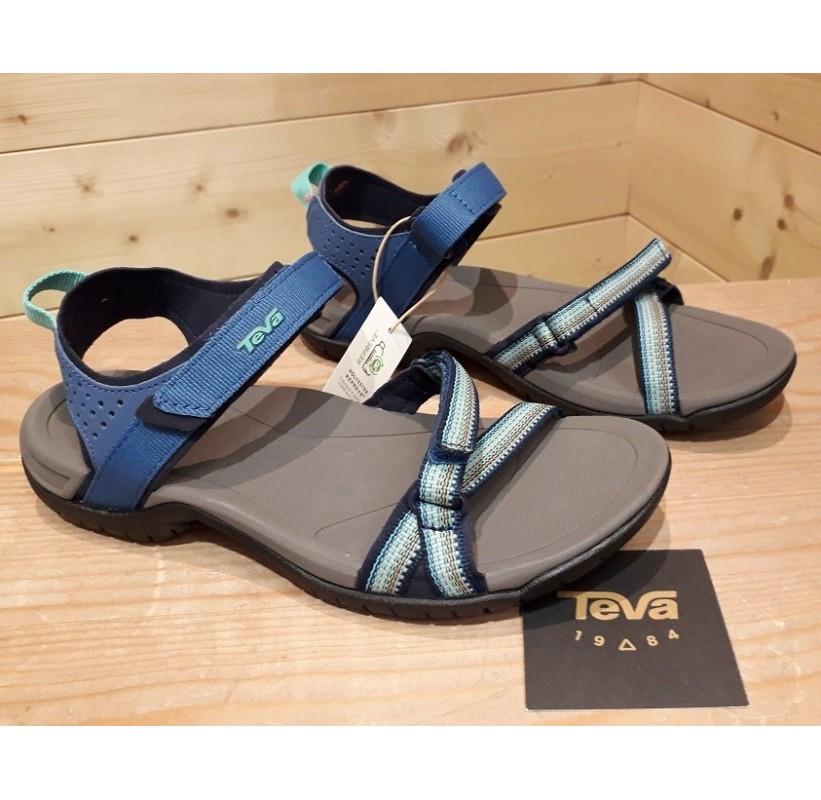 VERRA WOMEN TEVA Sandale randonnée Femme confort légère et féminine accroche bleu
