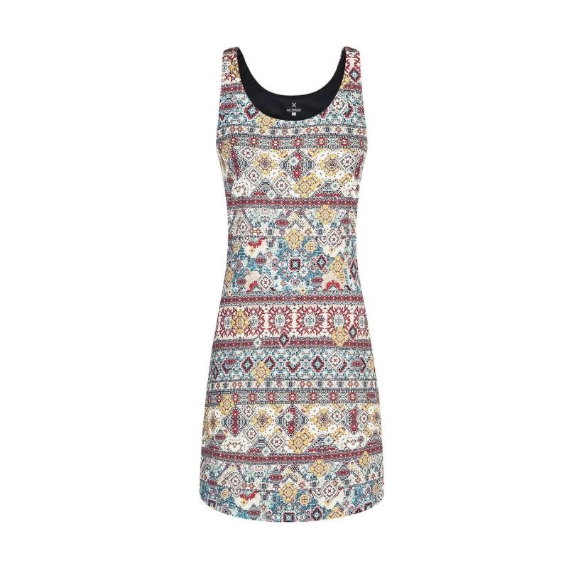 VENERE DRESS WOMAN MONTURA robe de voyage randonnée protection solaire solide respirante
