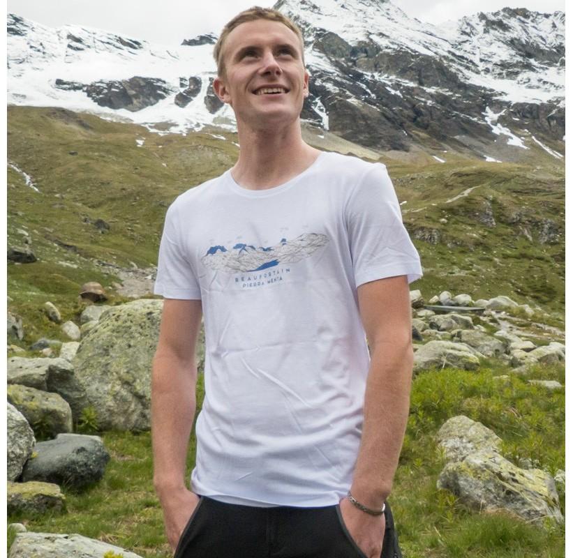 BEAUFORATIN PIERRA-MENTA M MASHERBRUM tee-shirt éco responsable rando escalade voyage