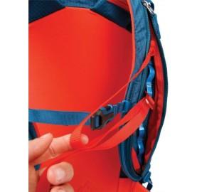 YAGI 35 L BLUE ICE sac de ski de randonnée attache rapide ski