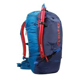 YAGI 35 L BLUE ICE sac de ski et d'alpinisme porte piolet