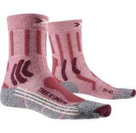 TREK X LINEN W X-SOCKS® chaussette de randonnée pour femme avec lin et laine Merino