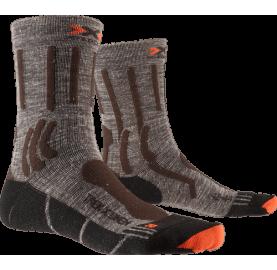 Chaussette randonnée lin et Merino TREK X LINEN X-SOCKS® fraiche douce confort