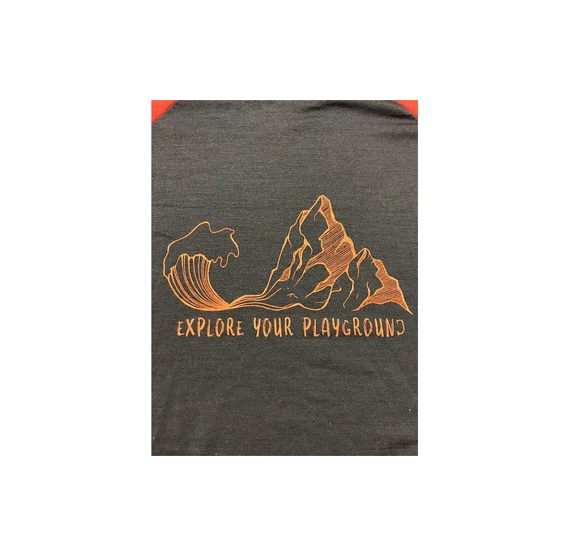 Explore your playground MAILLE A PART tee-shirt manches longues Mérinos