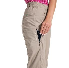 FARLEY V WOMAN PANTS VAUDE Pantalon de randonnée femme poche téléphone