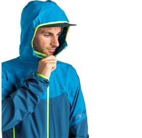 TRANSALPER LIGHT 3L JACKET DYNAFIT veste imperméable ultra light compressible capuche casquette