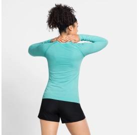 ESSENTIAL SEAMLESS T-SHIRT ML W ODLO tee-shirt manche longue femme ultra séchant sans couture