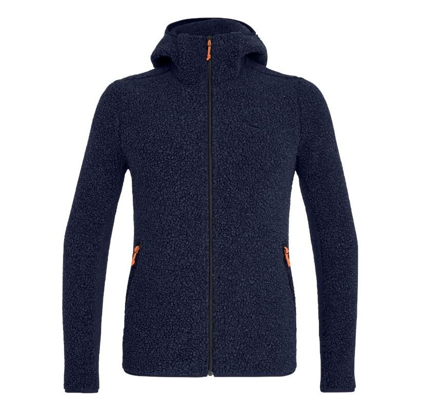 FANES SHEARLING WOOL M JKT SALEWA veste laine et polaire chaleur anti odeur confort