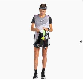 DNA W S/S TEE DYNAFIT tee-shirt femme trail ultra light aéré