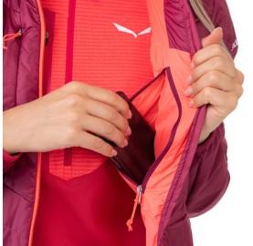 ORTLES HYBRID TW CLT W JKT SALEWA  Micro Doudoune laine femme poche intérieure