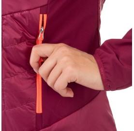 ORTLES HYBRID TW CLT W JKT SALEWA  Micro Doudoune laine femme poches mains fermées