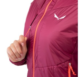 ORTLES HYBRID TW CLT W JKT SALEWA  Micro Doudoune laine femme poche poitrine