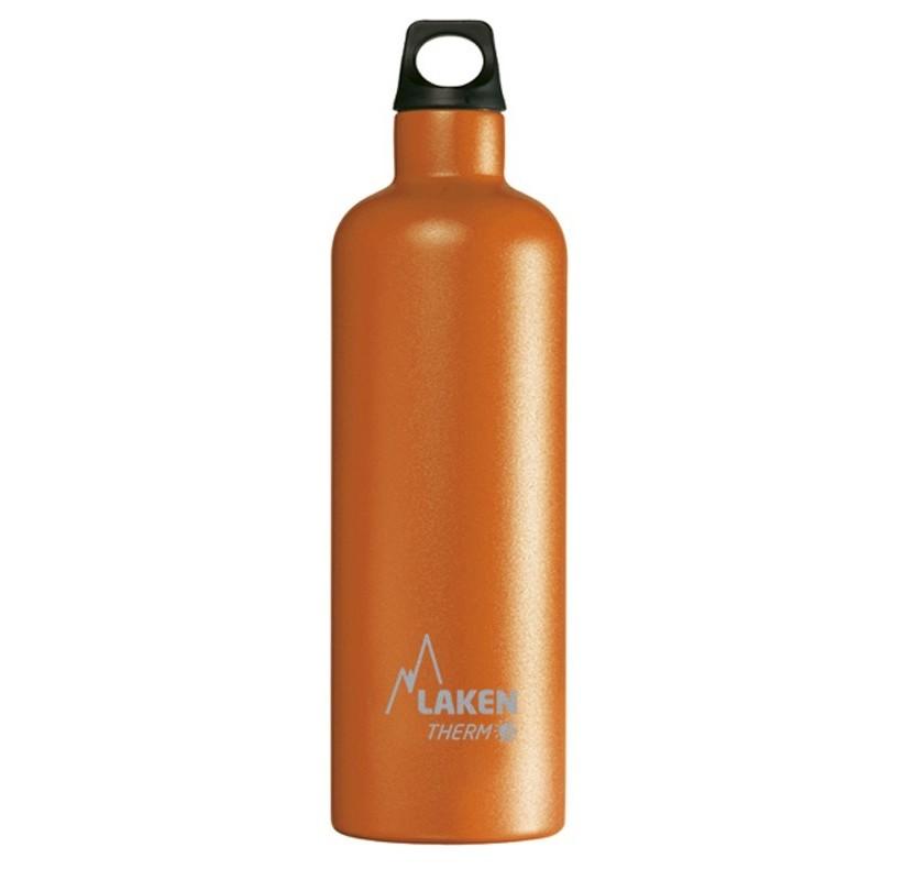 FUTURA THERMO 0.75 L LAKEN - bouteille thermo chaud et froid - acier inoxydable orange