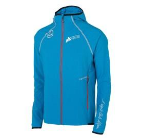 PUIGMAL M TERNUA Veste homme coupe-vent, légère, souple et respirante aux couleurs du Club Alpin Français