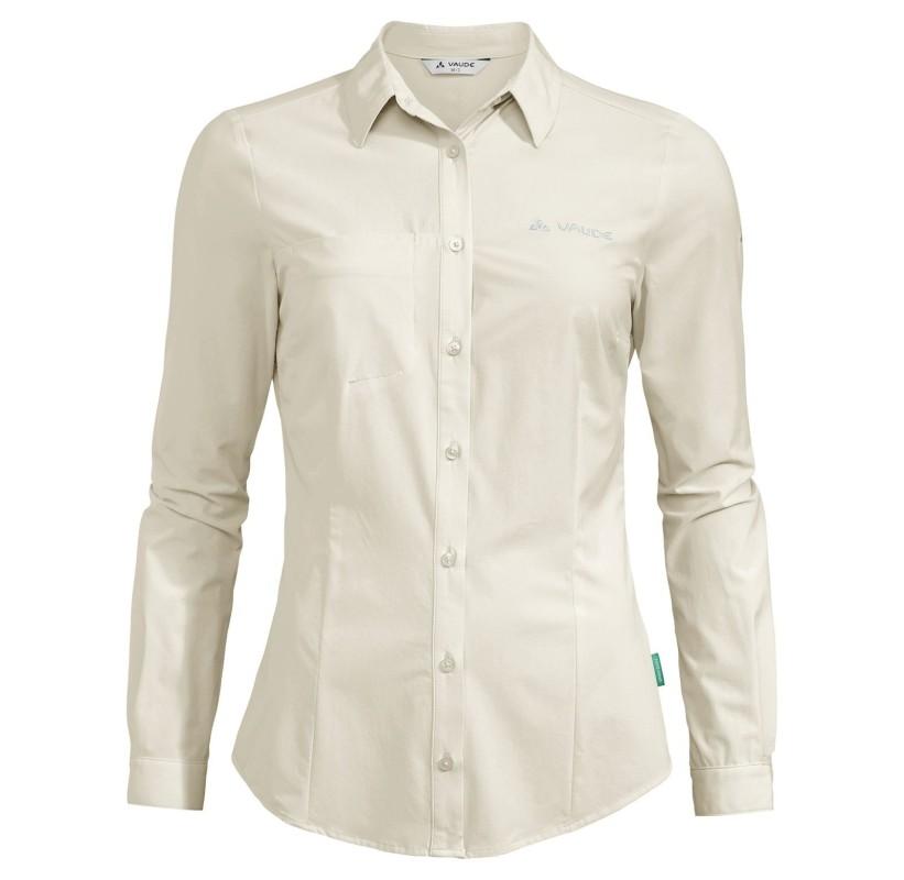 Chemise manches longues de rando pour femme, eco-responsable