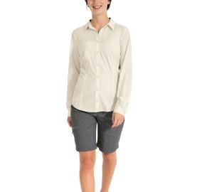 Chemise manches longues de rando pour femme, eco-responsable, VAUDE