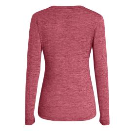PUEZ MELANGE DRY W L/S TEE SALEWA Tee-shirt femme manche longue, doux et souple protection solaire