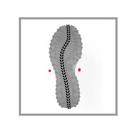 Semelle POMOCA® S Path garder la voûte plantaire en contact avec le sol et soutenir le déroulé naturel du pied