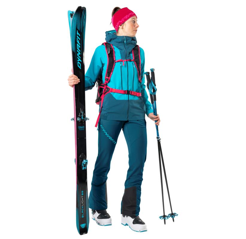 TLT DST JACKET W DYNAFIT Veste softshell Femme coupe-vent et très respirante, ski de randonnée dynamique ou printanier